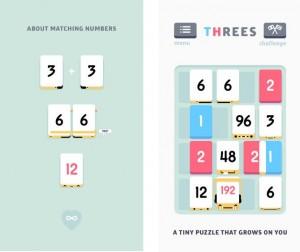 threes ios app