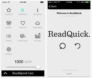 ReadQuick iOS App